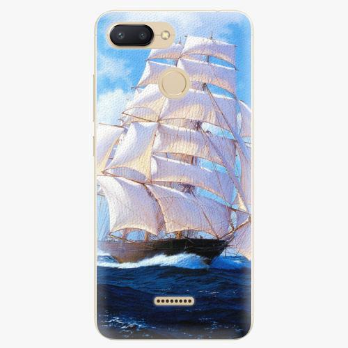 Silikonové pouzdro iSaprio - Sailing Boat - Xiaomi Redmi 6