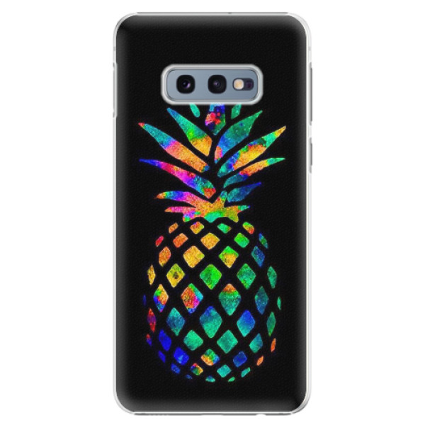 Plastové pouzdro iSaprio - Rainbow Pineapple - Samsung Galaxy S10e
