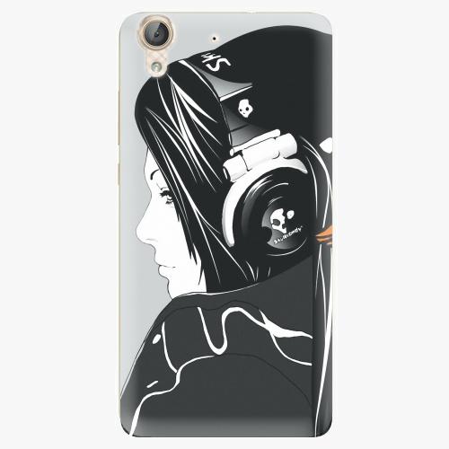 Plastový kryt iSaprio - Headphones - Huawei Y6 II