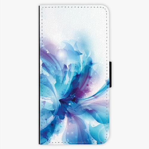 Flipové pouzdro iSaprio - Abstract Flower - Samsung Galaxy S7 Edge