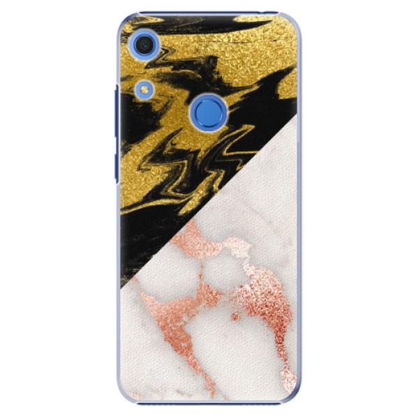 Plastové pouzdro iSaprio - Shining Marble - Huawei Y6s