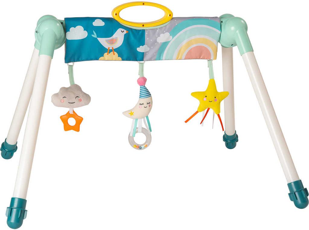TAF TOYS Baby hrazda na cesty Měsíček set se 3 hračkami pro miminko