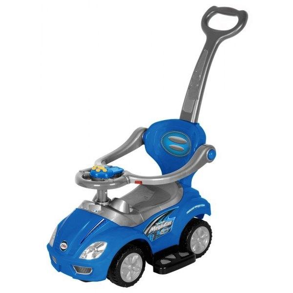 Odstrkovadlo, odrážedlo 3v1 AUTO - modré