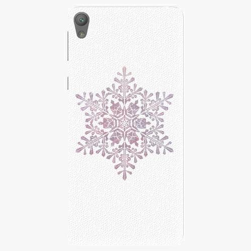 Plastový kryt iSaprio - Snow Flake - Sony Xperia E5