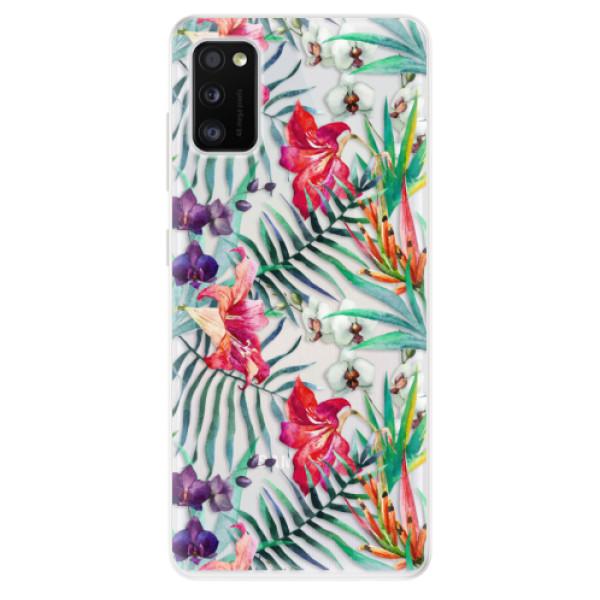 Odolné silikonové pouzdro iSaprio - Flower Pattern 03 - Samsung Galaxy A41