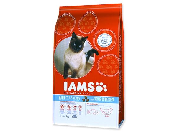 IAMS Cat rich in Ocean Fish 1,5kg