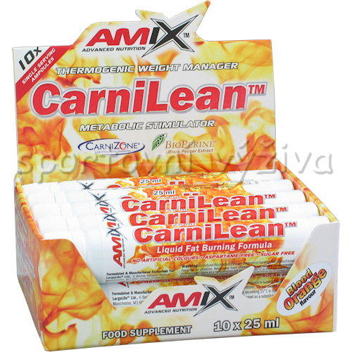 CarniLean 10 - ampulí-blood-orange