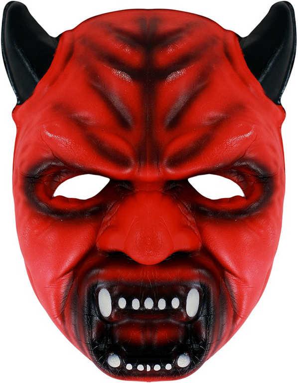 KARNEVAL Maska čert pěnová KARNEVALOVÝ DOPLNĚK
