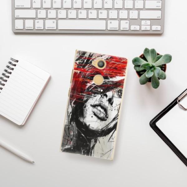 Plastové pouzdro iSaprio - Sketch Face - Sony Xperia L2