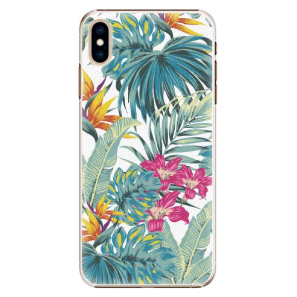 Plastové pouzdro iSaprio - Tropical White 03 - iPhone XS Max