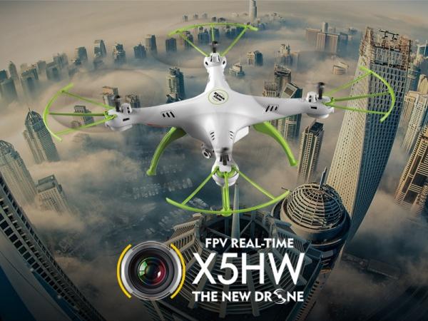 SYMA X5cHW PRO - 50 minut letu + barometr + WiFi kamera