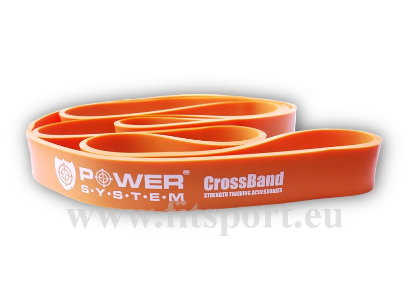 Posilovací guma CROSS BAND 2 orange