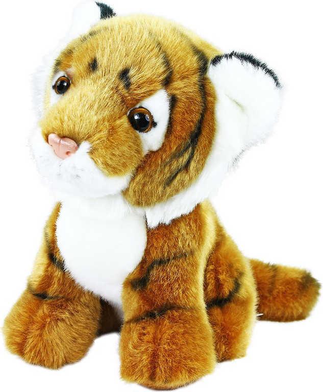 PLYŠ Tygr sedící 18cm exkluzivní kolekce *PLYŠOVÉ HRAČKY*