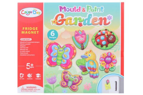 Výroba magnetů - zahrada
