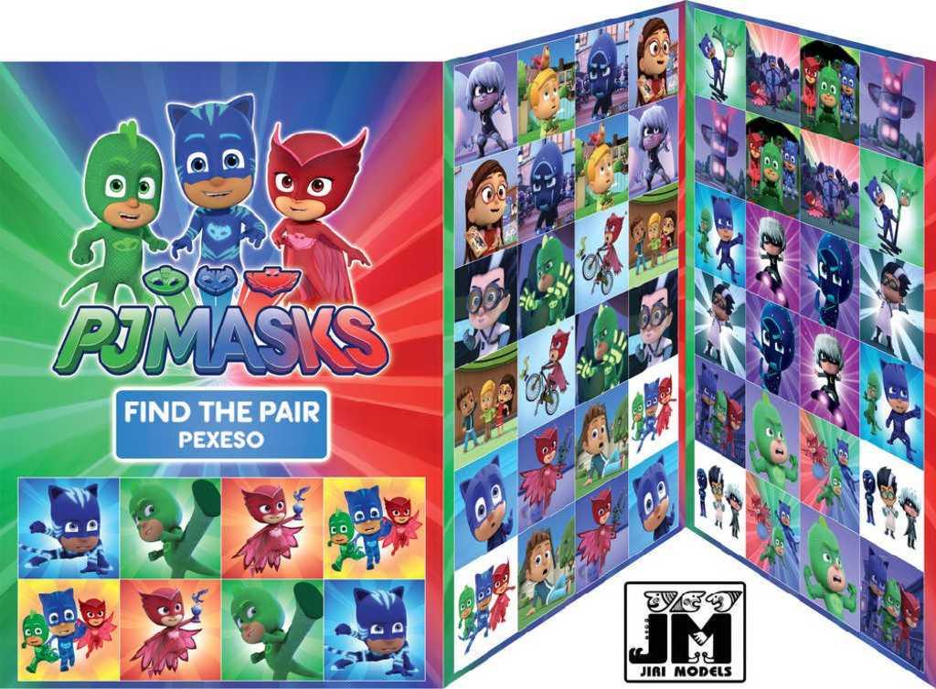 JIRI MODELS Hra pexeso PJ Masks (Pyžamasky) Disney