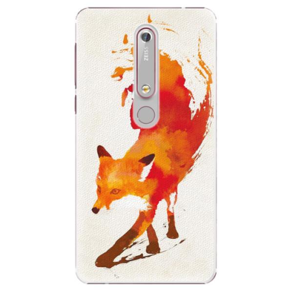 Plastové pouzdro iSaprio - Fast Fox - Nokia 6.1