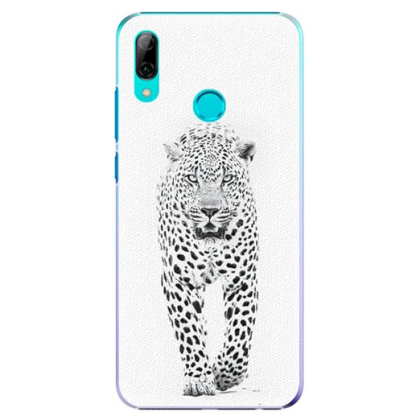 Plastové pouzdro iSaprio - White Jaguar - Huawei P Smart 2019