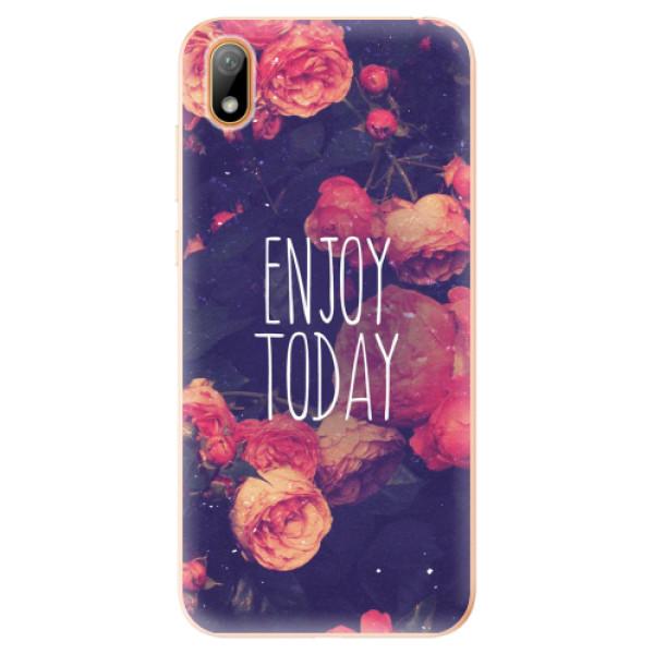 Odolné silikonové pouzdro iSaprio - Enjoy Today - Huawei Y5 2019