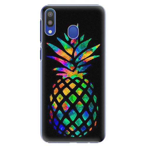 Plastový kryt iSaprio - Rainbow Pineapple - Samsung Galaxy M20