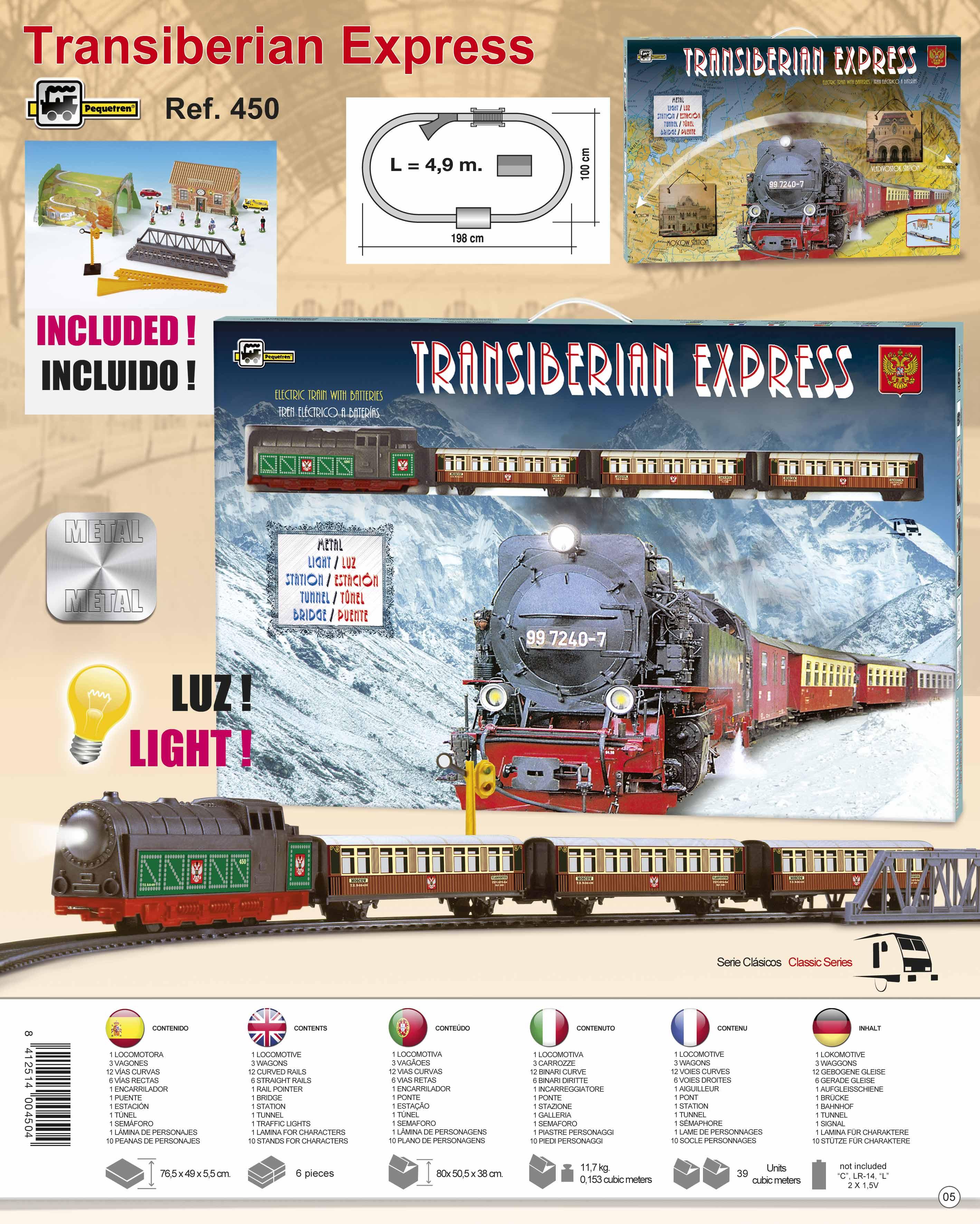 Pequetren TRANSIBERIAN EXPRESS