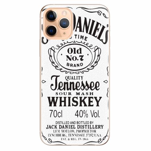 Silikonové pouzdro iSaprio - Jack White - iPhone 11 Pro