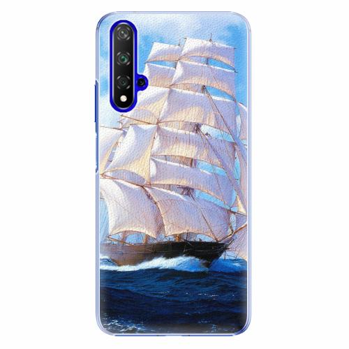 Plastový kryt iSaprio - Sailing Boat - Huawei Honor 20