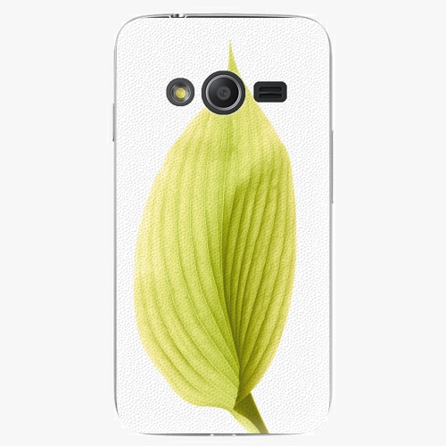 Plastový kryt iSaprio - Green Leaf - Samsung Galaxy Trend 2 Lite