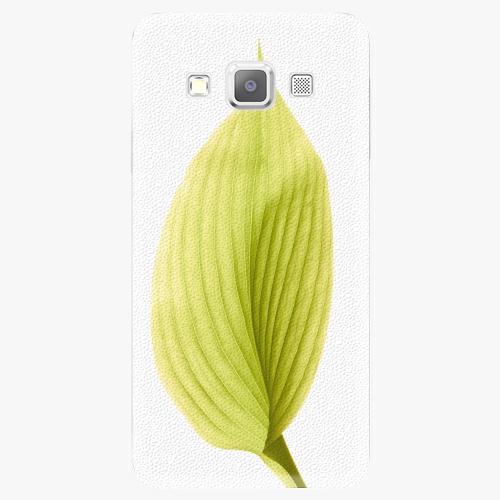 Plastový kryt iSaprio - Green Leaf - Samsung Galaxy A3