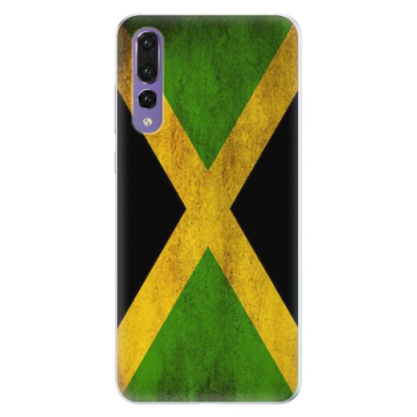 Silikonové pouzdro iSaprio - Flag of Jamaica - Huawei P20 Pro