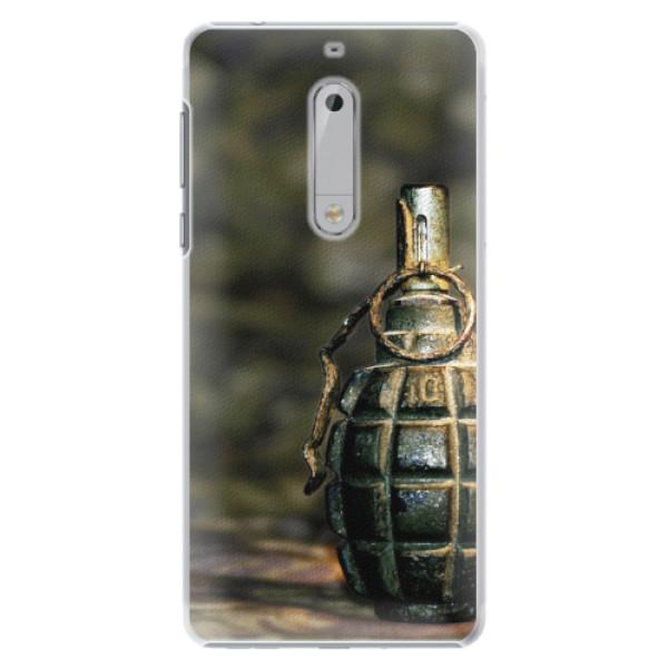 Plastové pouzdro iSaprio - Grenade - Nokia 5