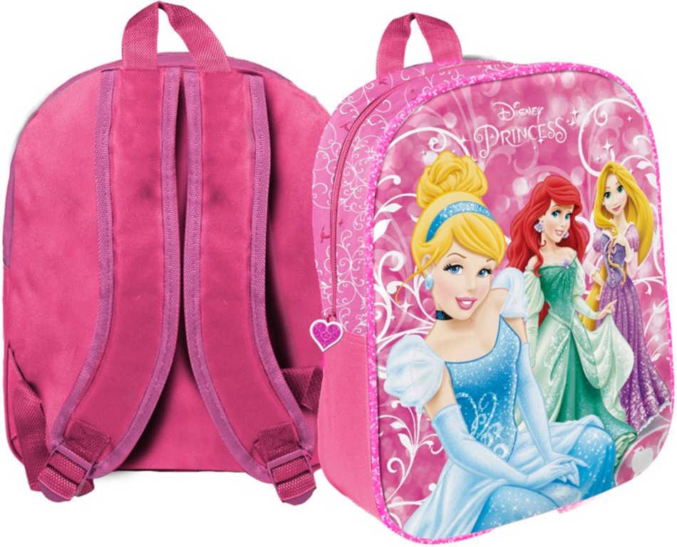 Batoh dětský holčičí Disney Princezny růžový v sáčku