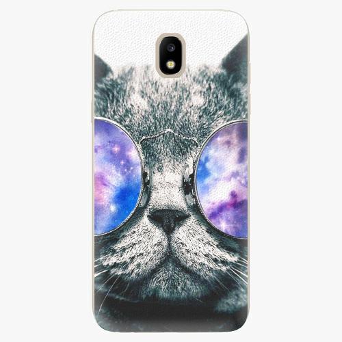 Silikonové pouzdro iSaprio - Galaxy Cat - Samsung Galaxy J5 2017