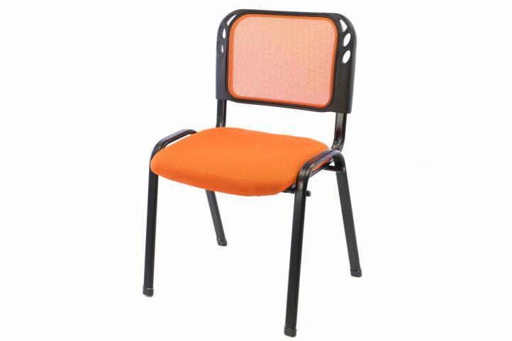 Stohovatelná kongresová židle - oranžová