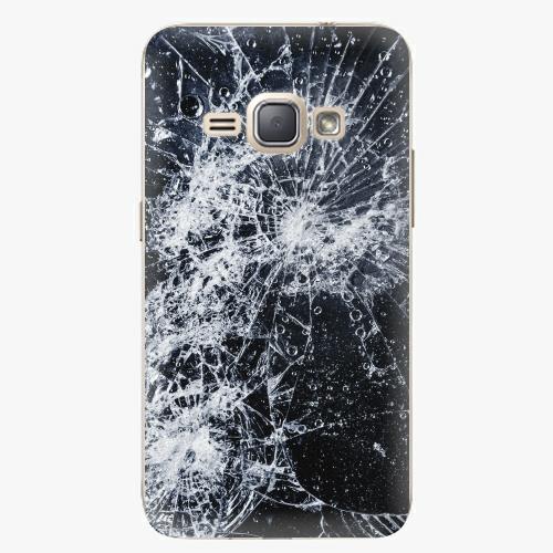 Plastový kryt iSaprio - Cracked - Samsung Galaxy J1 2016