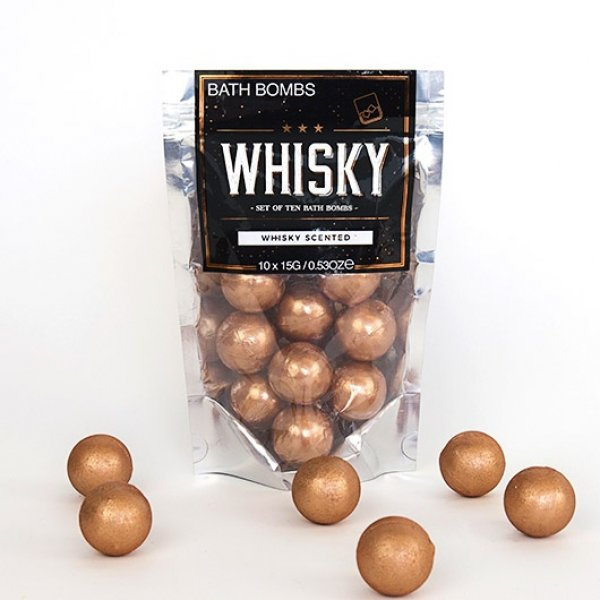 Šumivé koule do koupele - Whisky