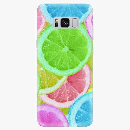Silikonové pouzdro iSaprio - Lemon 02 - Samsung Galaxy S8