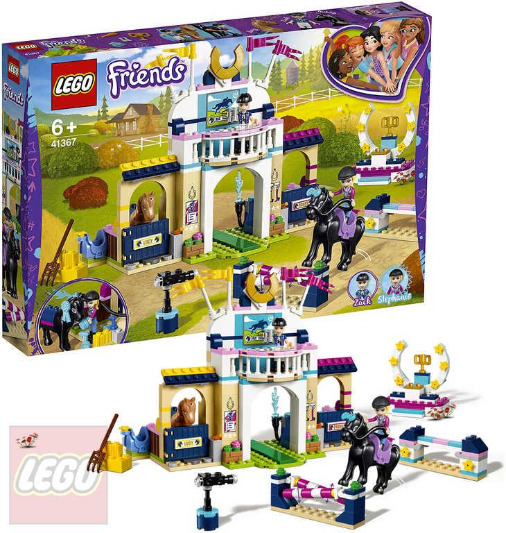LEGO FRIENDS Stephanie a parkurové skákání 41367