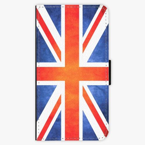 Flipové pouzdro iSaprio - UK Flag - Samsung Galaxy S6 Edge