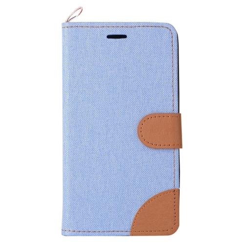 Pouzdro / kryt iSaprio Flip Case Light Blue pro Lenovo A6000