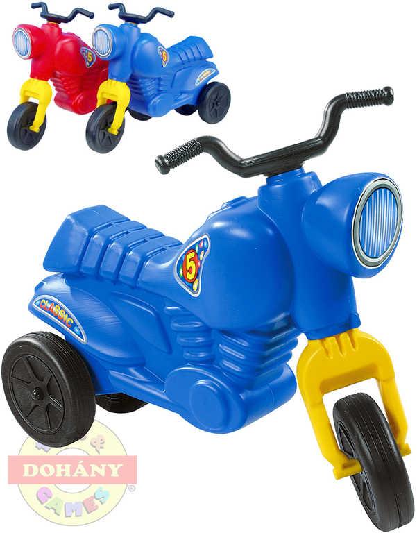 MAD Odrážedlo dětské odstrkovadlo CLASSIC 5 menší motocykl 2 barvy