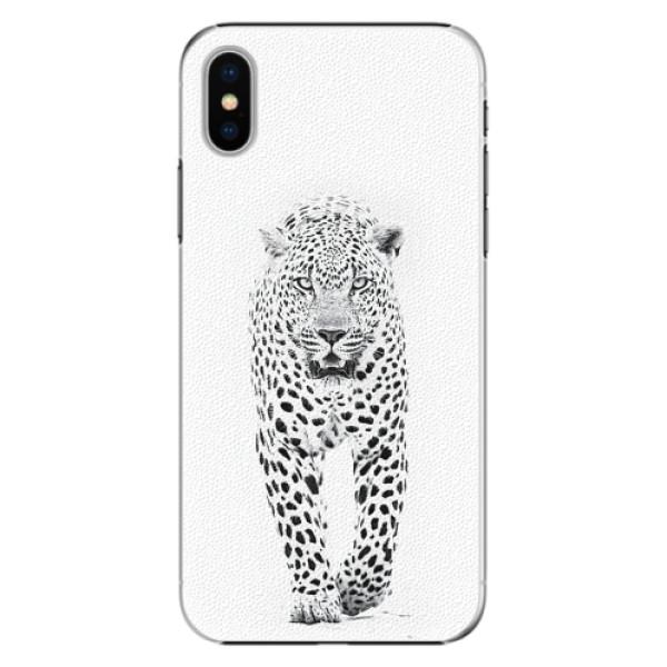Plastové pouzdro iSaprio - White Jaguar - iPhone X