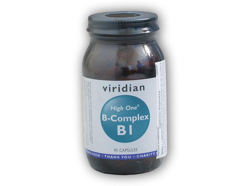 B-Complex B1 High One 90 kapslí
