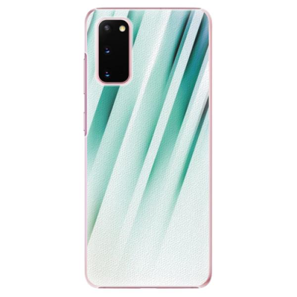 Plastové pouzdro iSaprio - Stripes of Glass - Samsung Galaxy S20