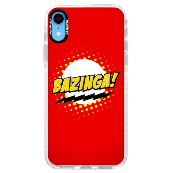 Silikonové pouzdro Bumper iSaprio - Bazinga 01 - iPhone XR