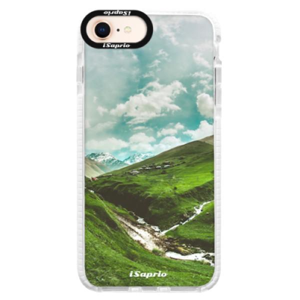 Silikonové pouzdro Bumper iSaprio - Green Valley - iPhone 8