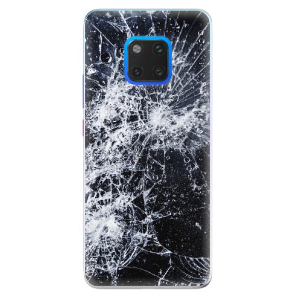 Silikonové pouzdro iSaprio - Cracked - Huawei Mate 20 Pro