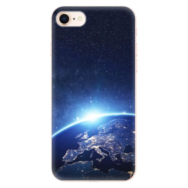 Odolné silikonové pouzdro iSaprio - Earth at Night - iPhone 8