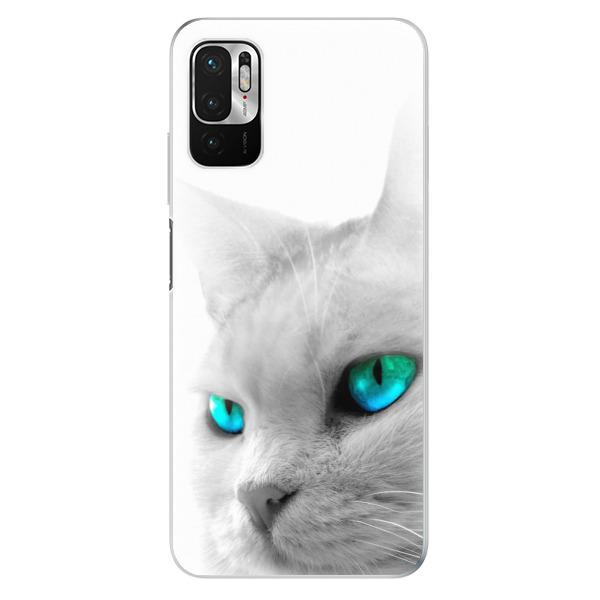 Odolné silikonové pouzdro iSaprio - Cats Eyes - Xiaomi Redmi Note 10 5G