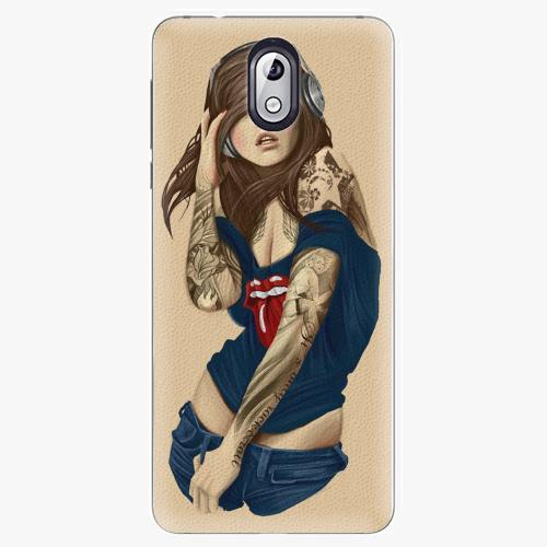 Plastový kryt iSaprio - Girl 03 - Nokia 3.1