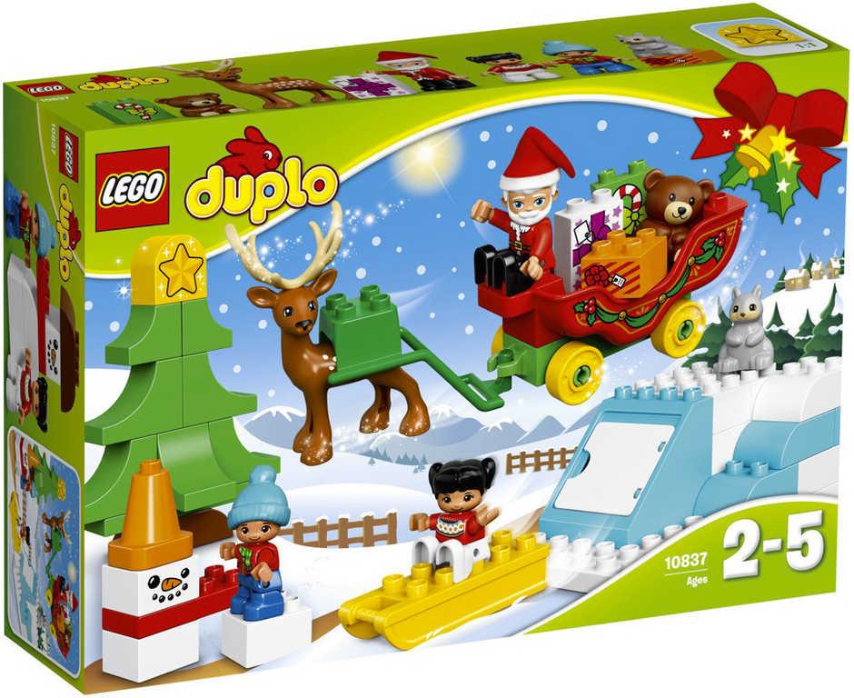 LEGO DUPLO Santovy Vánoce 10837